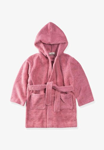 Dressing gown - mottled pink