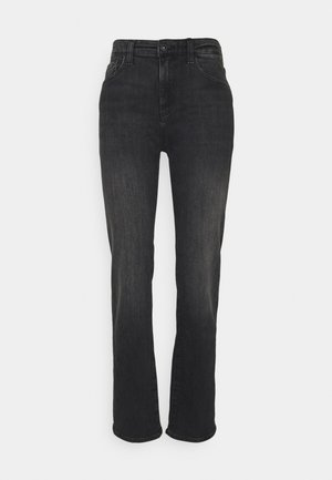 ALEXXIS - Straight leg jeans - black