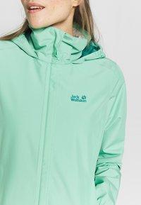 Jack Wolfskin - STORMY POINT JACKET W - Waterproof jacket - pacific green - 4