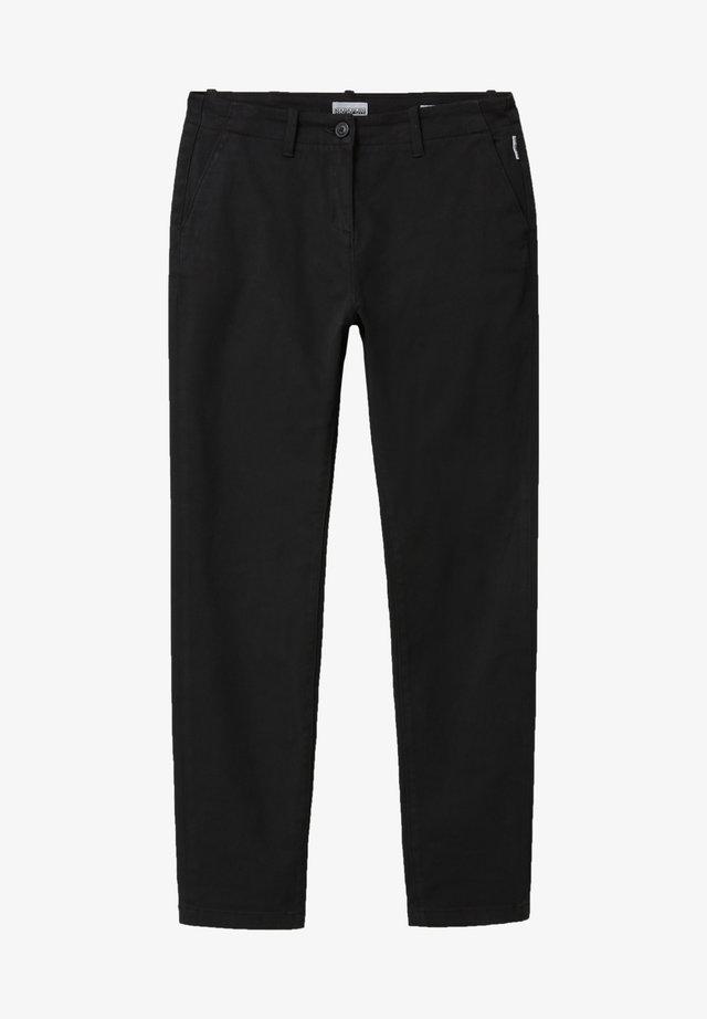 MERIDIAN - Trousers - black