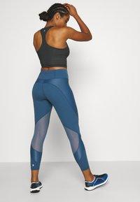 Sweaty Betty - POWER SCULPT WORKOUT LEGGINGS - Legging - stellar blue - 2