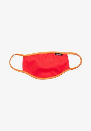 Stoffmaske - red/orange
