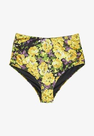 ARTYGZ - Bikini bottoms - yellow flower garden
