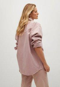 Mango - MICHELLE - Button-down blouse - lys/pastell lilla - 2
