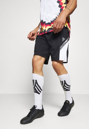 TANGO SPORTS FOOTBALL 1/2 SHORTS - Träningsshorts - black/white