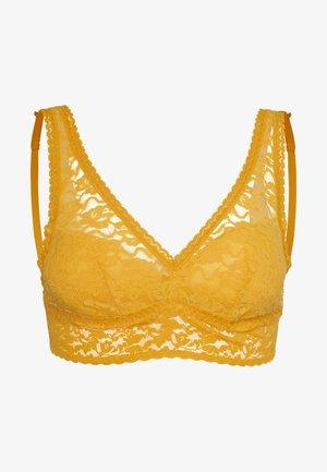 BRASSIERE - Triangle bra - giallo miele