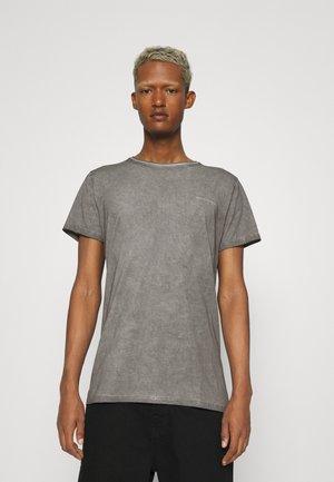 HEIN VINTAGE - Basic T-shirt - vintage grey