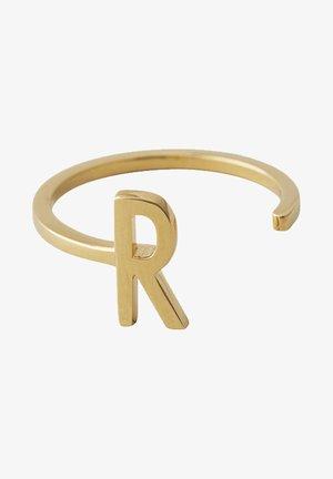 RING R - Ring - gold