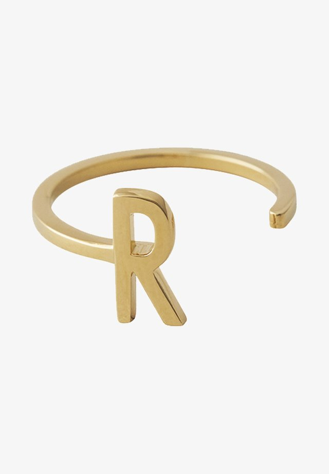RING R - Ringe - gold