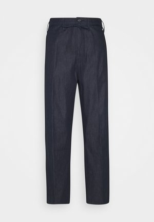 LINTELL HIGH DAD  - Relaxed fit jeans - raw denim