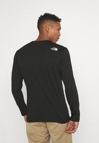 The North Face - CENTRAL LOGO - Long sleeved top - black - 2