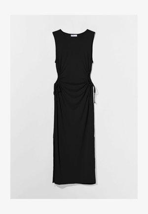 MIT CUT-OUTS AN DER SEITE - Jersey dress - black