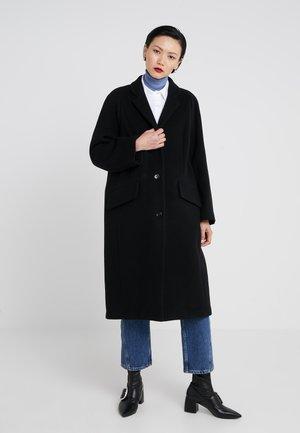 WOOLY - Classic coat - black