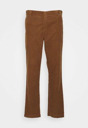 MASTER PANT FORD - Tygbyxor - hamilton brown rinsed