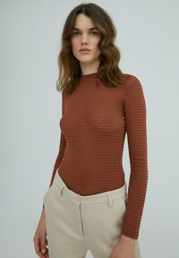 EDITED - AZALEA - Long sleeved top - braun - 0