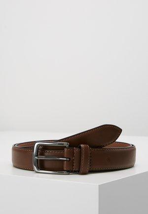 VEGAN BELT - Belt business - brown