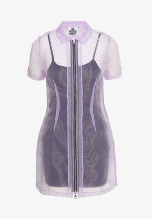 SHIRT DRESS - Cocktail dress / Party dress - lilac