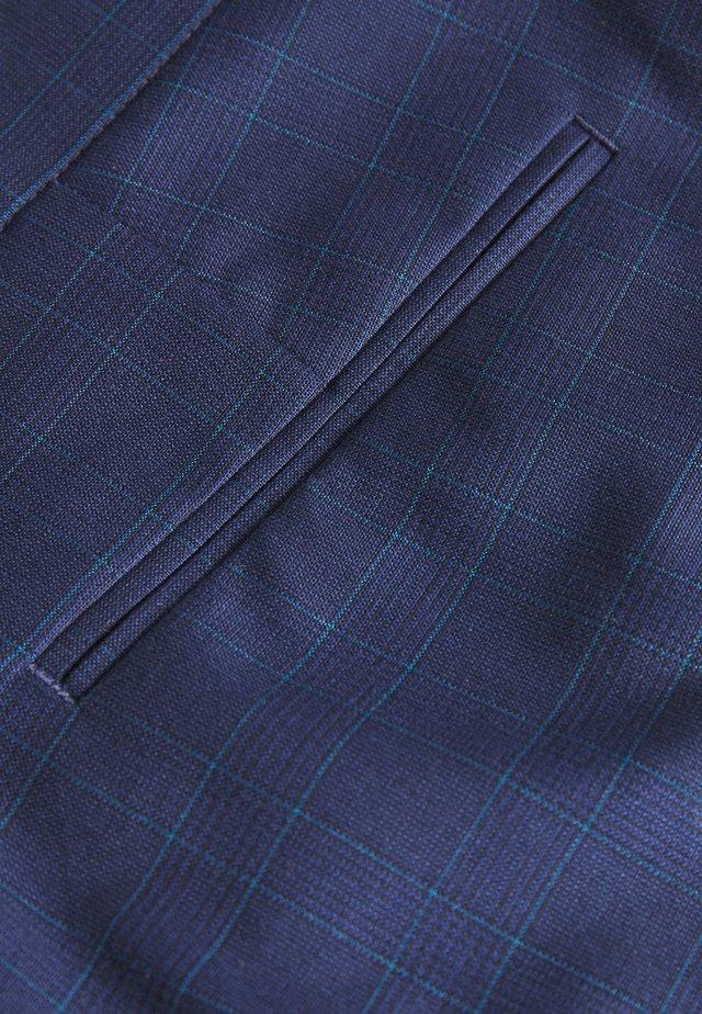CHECK SUIT - Garnitur - blue