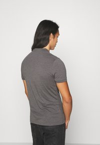Pier One - MUSCLE FIT - Polo - dark gray - 2