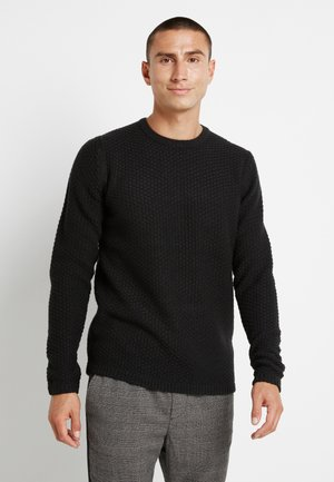 ONSLOCCER CREW NECK - Jumper - black