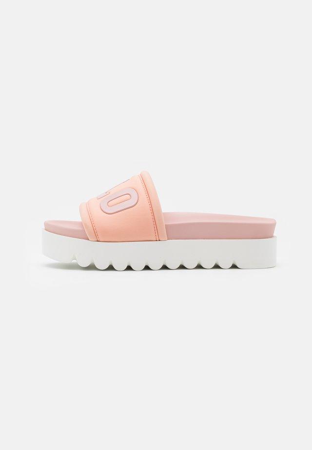 EDONA - Pantofle na podpatku - rose