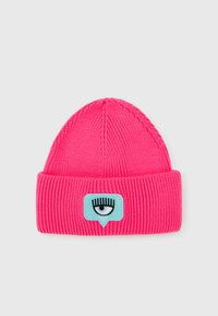 CHIARA FERRAGNI - BEANIE - Beanie - fluorescent pink - 0