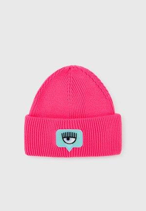 BEANIE - Beanie - fluorescent pink