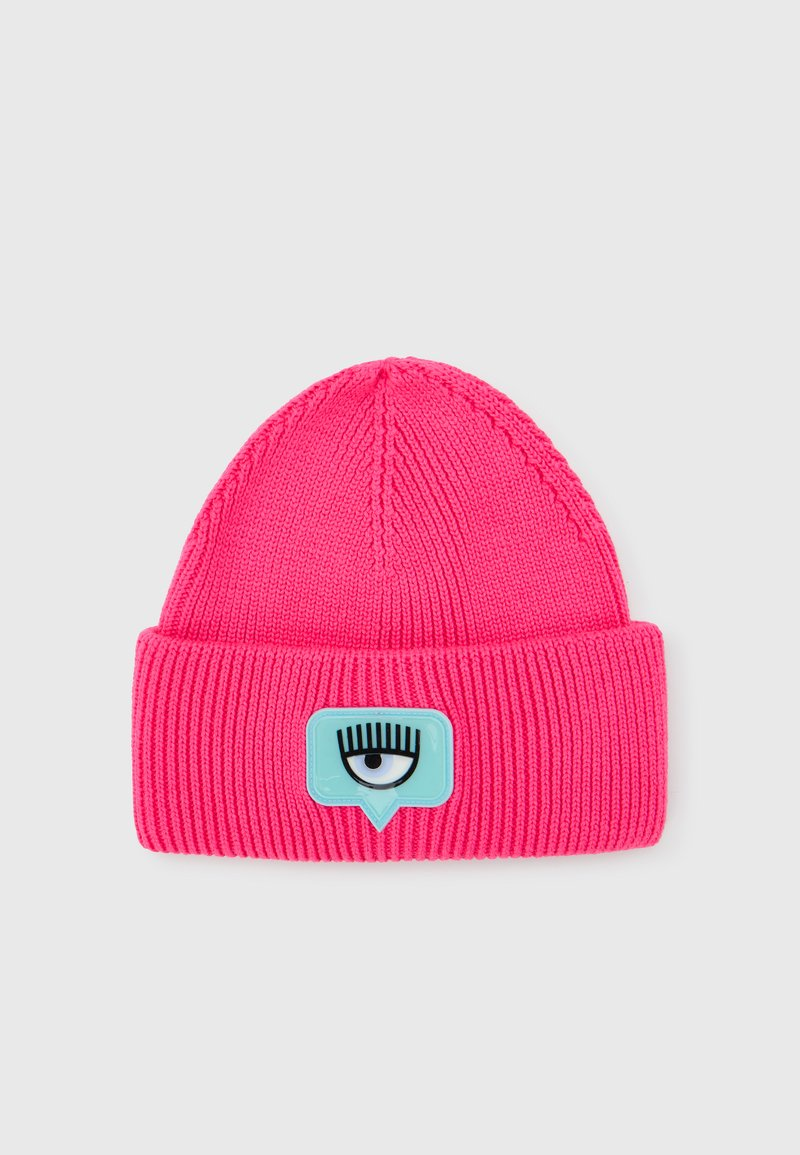 CHIARA FERRAGNI - BEANIE - Beanie - fluorescent pink