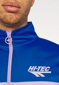 Hi-Tec - ASHFORD TRACKSUIT - Tracksuit - purple/blue - 6