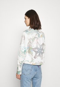 Desigual - PALY - Denim jacket - white - 2