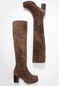 Weekend by Pedro Miralles - Over-the-knee boots - tortora - 3