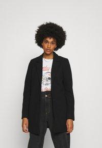 Vero Moda - VMDAFNELISA JACKET - Short coat - black - 0