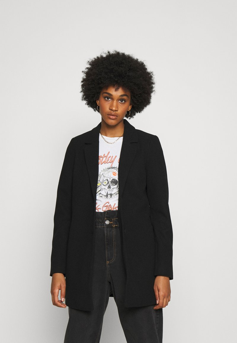 Vero Moda - VMDAFNELISA JACKET - Short coat - black