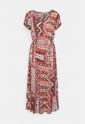 ONLADELE LIFE CAPSL DRESS  - Denní šaty - roasted russet/cowboy ethnic