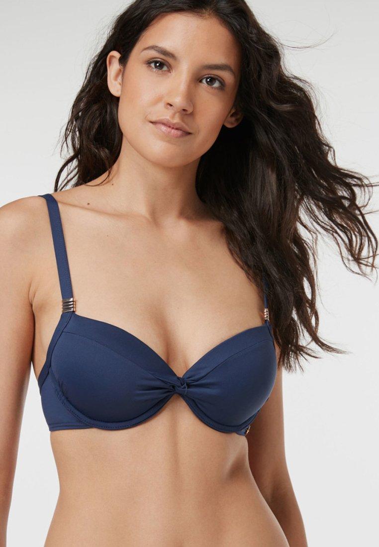 Next - SHAPE ENHANCING  - Bikini top - dark blue