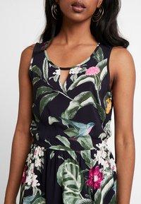 Vero Moda - VMSIMPLY EASY SHORT DRESS - Day dress - night sky/tropicana - 5
