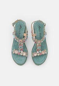 Alma en Pena - Platform sandals - mint - 5