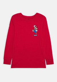 Levi's® - IT'S A ME MARIO  - Longsleeve - gym red - 0