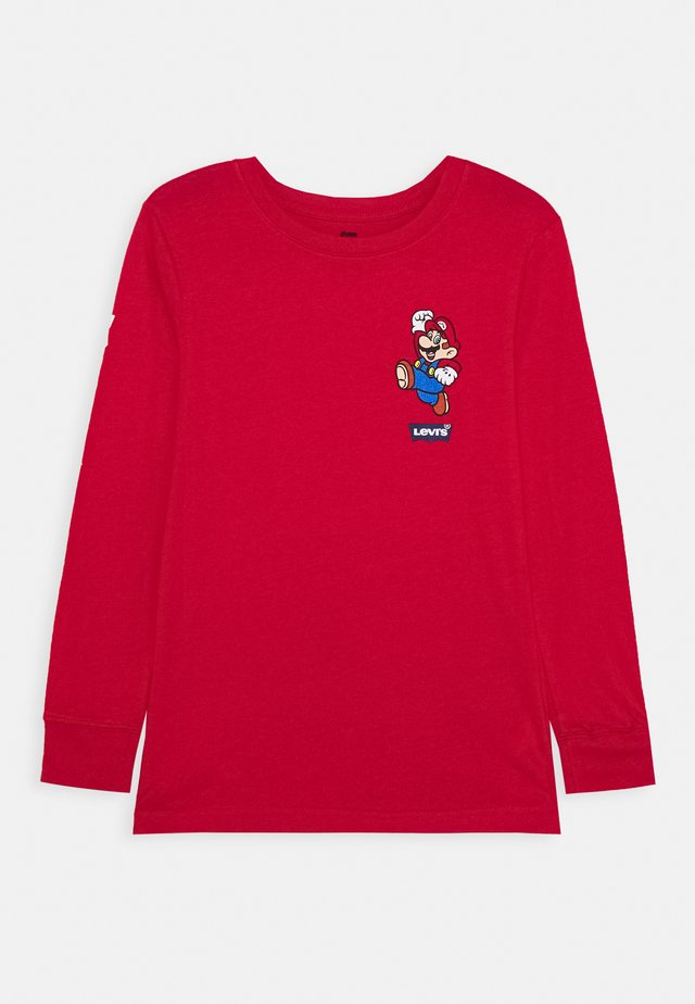 IT'S A ME MARIO  - Long sleeved top - gym red