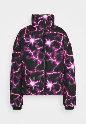 LIGHTENING - Winter jacket - black
