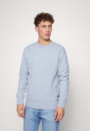 CREWNECK - Sweatshirt - light stone grey melange