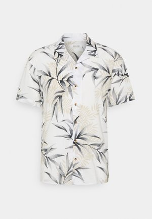 JJGREG PLAIN - Camisa - cloud dancer