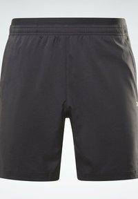 Reebok - LES MILLS ATHLETE - Pantalón corto de deporte - black - 6
