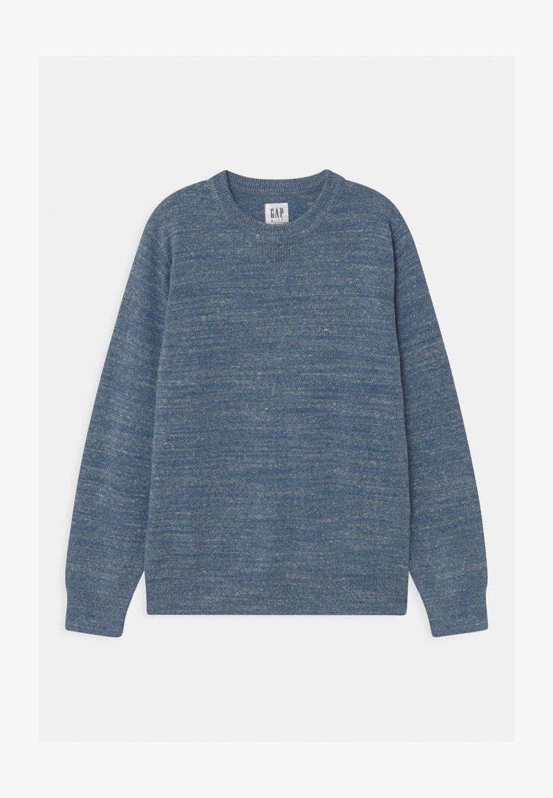 GAP - BOY SOLID CREW - Trui - light blue heather