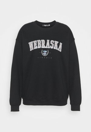NEBRASKA - Sweatshirt - black