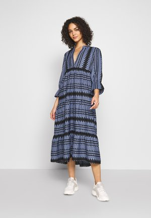 ONLNAYA ATHENA LONG DRESS - Day dress - black/infinity blue