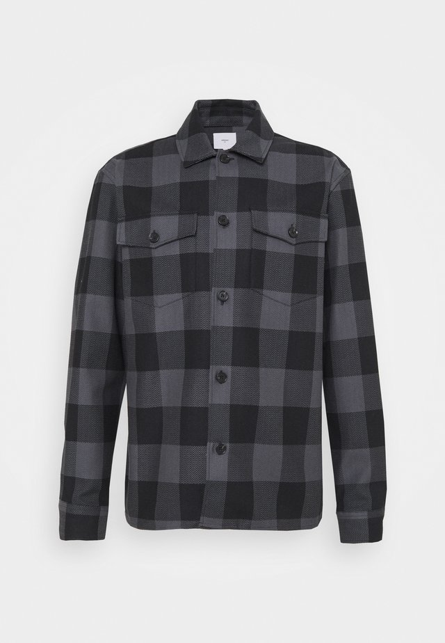 FJELL - Camicia - dark grey