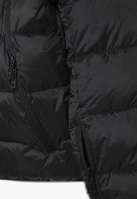 SuperRebel - BASIC SHINY BOYS SKI JACKET - Snowboardjacke - black - 4