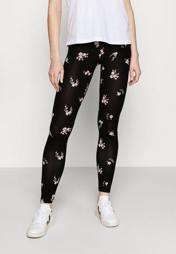 2 PACK - Leggings - Trousers - black/multicolor