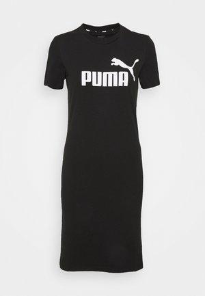 SLIM TEE DRESS - Day dress - black